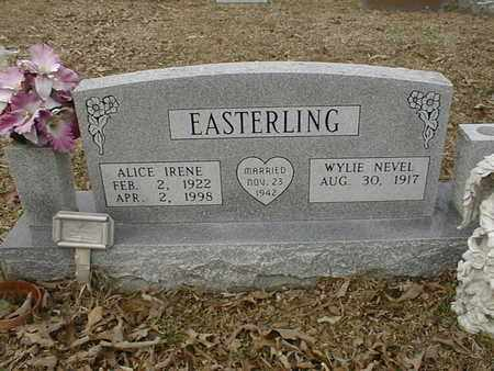 EASTERLING, WYLIE NEVEL - Bowie County, Texas | WYLIE NEVEL EASTERLING - Texas Gravestone Photos