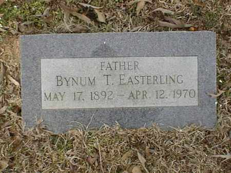 EASTERLING, BYNUM T - Bowie County, Texas | BYNUM T EASTERLING - Texas Gravestone Photos