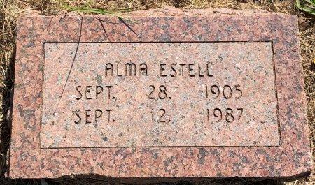 BROOKS ESTELL, ALMA - Bowie County, Texas | ALMA BROOKS ESTELL - Texas Gravestone Photos