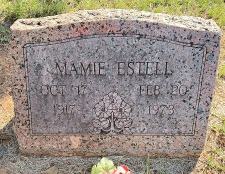 BROWNING ESTELL, MAMIE - Bowie County, Texas | MAMIE BROWNING ESTELL - Texas Gravestone Photos