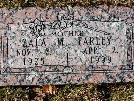 FARLEY, ZALA M - Bowie County, Texas   ZALA M FARLEY - Texas Gravestone Photos