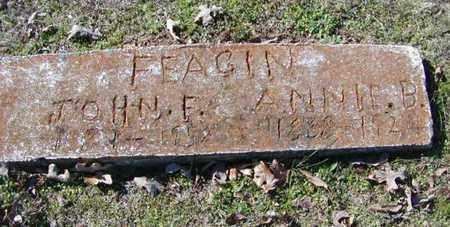 FEAGIN, JOHN F - Bowie County, Texas | JOHN F FEAGIN - Texas Gravestone Photos