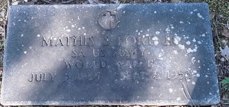 FORT, JR (VETERAN WWII), MATHIS S - Bowie County, Texas | MATHIS S FORT, JR (VETERAN WWII) - Texas Gravestone Photos