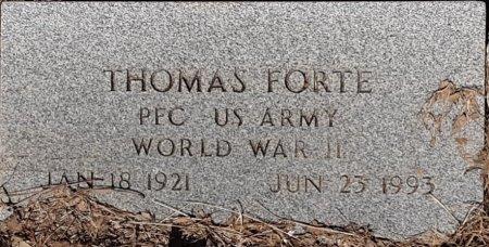 FORTE (VETERAN WWII), THOMAS - Bowie County, Texas | THOMAS FORTE (VETERAN WWII) - Texas Gravestone Photos