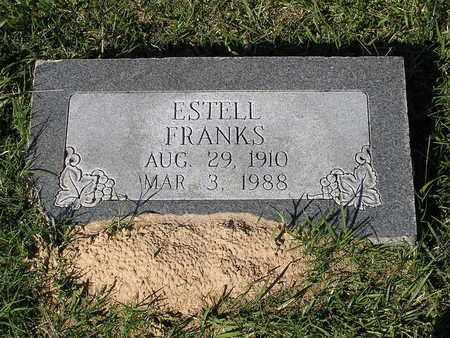 FRANKS, ESTELL - Bowie County, Texas   ESTELL FRANKS - Texas Gravestone Photos