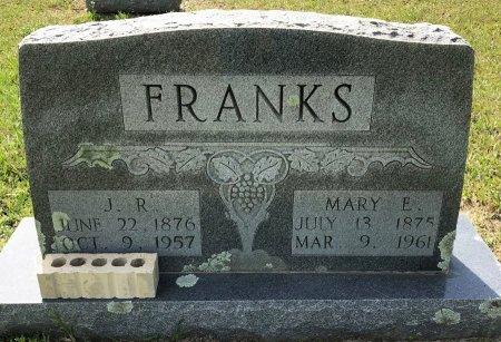 FRANKS, J R - Bowie County, Texas | J R FRANKS - Texas Gravestone Photos