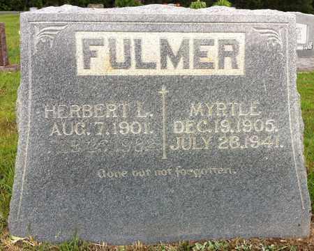 FULMER, HERBERT L - Bowie County, Texas   HERBERT L FULMER - Texas Gravestone Photos