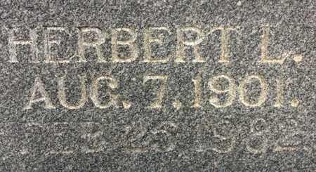 FULMER, HERBERT L  (CLOSEUP) - Bowie County, Texas   HERBERT L  (CLOSEUP) FULMER - Texas Gravestone Photos