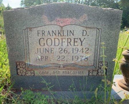 GODFREY, FRANKLIN D - Bowie County, Texas | FRANKLIN D GODFREY - Texas Gravestone Photos