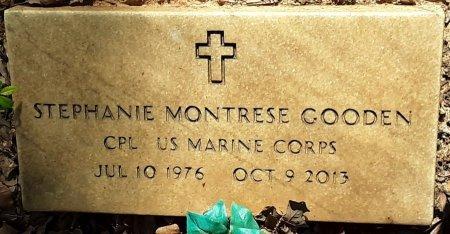 GOODEN (VETERAN), STEPHANIE MONTRESE  - Bowie County, Texas | STEPHANIE MONTRESE  GOODEN (VETERAN) - Texas Gravestone Photos