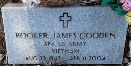 GOODEN (VETERAN VIET), BOOKER JAMES  - Bowie County, Texas | BOOKER JAMES  GOODEN (VETERAN VIET) - Texas Gravestone Photos