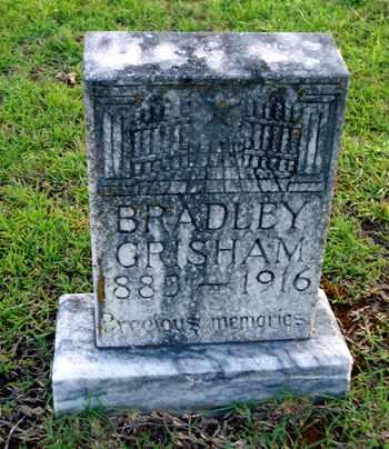 GRISHAM, BRADLEY - Bowie County, Texas | BRADLEY GRISHAM - Texas Gravestone Photos