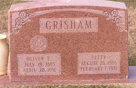 GRISHAM, BETTY - Bowie County, Texas   BETTY GRISHAM - Texas Gravestone Photos