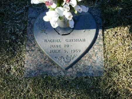 GRISHAM, RACHEL - Bowie County, Texas | RACHEL GRISHAM - Texas Gravestone Photos