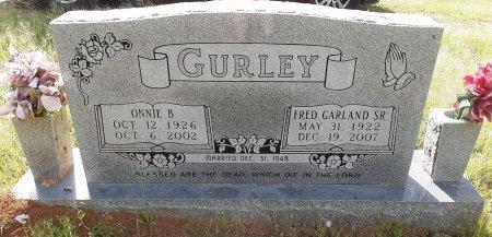 GURLEY, ONNIE - Bowie County, Texas | ONNIE GURLEY - Texas Gravestone Photos