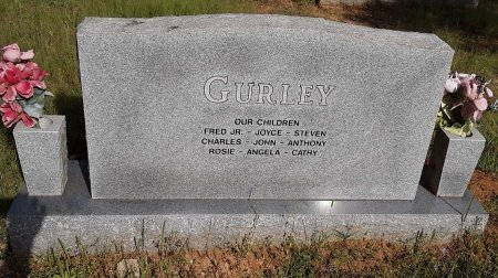 GURLEY, SR, FRED GARLAND (BACKVIEW) - Bowie County, Texas | FRED GARLAND (BACKVIEW) GURLEY, SR - Texas Gravestone Photos