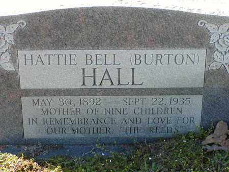 BURTON HALL, HATTIE BELL - Bowie County, Texas | HATTIE BELL BURTON HALL - Texas Gravestone Photos