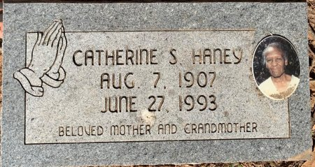 HANEY, CATHERINE S - Bowie County, Texas | CATHERINE S HANEY - Texas Gravestone Photos