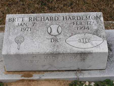 HARDEMON, BRET RICHARD - Bowie County, Texas   BRET RICHARD HARDEMON - Texas Gravestone Photos