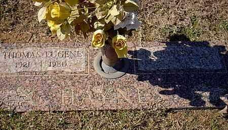 HAYNES, THOMAS EUGENE - Bowie County, Texas | THOMAS EUGENE HAYNES - Texas Gravestone Photos