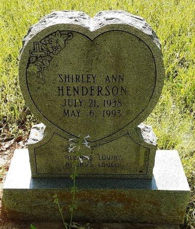 HENDERSON, SHIRLEY ANN - Bowie County, Texas | SHIRLEY ANN HENDERSON - Texas Gravestone Photos