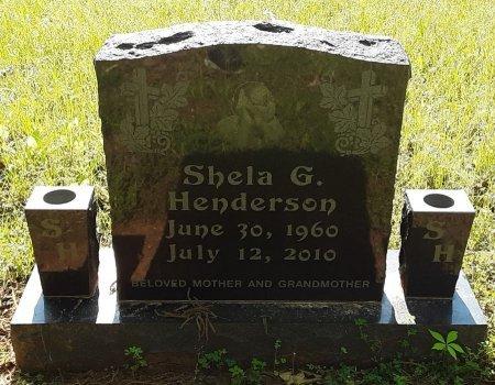 HENDERSON, SHELA G - Bowie County, Texas   SHELA G HENDERSON - Texas Gravestone Photos