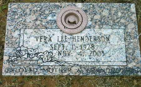 HENDERSON, VERA LEE - Bowie County, Texas | VERA LEE HENDERSON - Texas Gravestone Photos