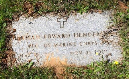 HENDERSON (VETERAN), HERMAN EDWARD - Bowie County, Texas | HERMAN EDWARD HENDERSON (VETERAN) - Texas Gravestone Photos