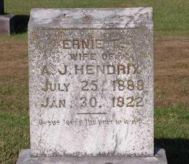 HENDRIX, ERNIE T - Bowie County, Texas   ERNIE T HENDRIX - Texas Gravestone Photos
