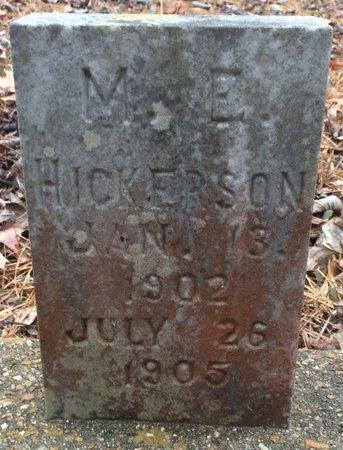 HICKERSON, M. E. - Bowie County, Texas | M. E. HICKERSON - Texas Gravestone Photos