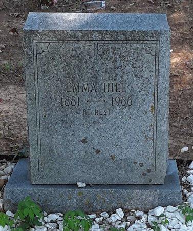 MCFIELD HILL, EMMA - Bowie County, Texas | EMMA MCFIELD HILL - Texas Gravestone Photos