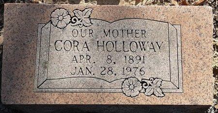 HOLLOWAY, CORA - Bowie County, Texas   CORA HOLLOWAY - Texas Gravestone Photos