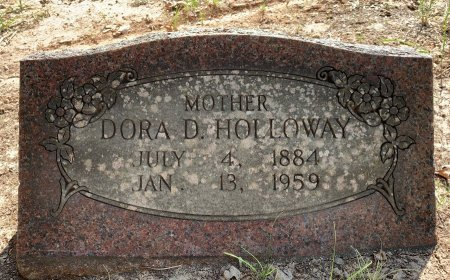 HOWARD HOLLOWAY, DORA D - Bowie County, Texas | DORA D HOWARD HOLLOWAY - Texas Gravestone Photos