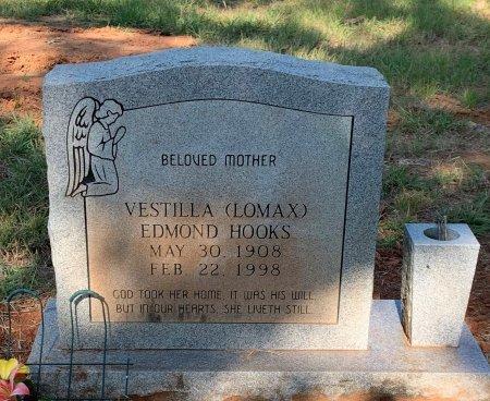 LOMAX EDMOND, VESTILLA - Bowie County, Texas | VESTILLA LOMAX EDMOND - Texas Gravestone Photos