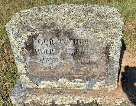 HUBBARD, HULIE - Bowie County, Texas | HULIE HUBBARD - Texas Gravestone Photos