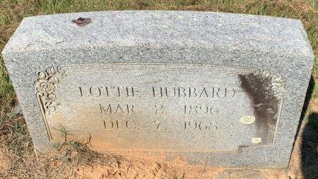 ALEXANDER HUBBARD, LOTTIE - Bowie County, Texas | LOTTIE ALEXANDER HUBBARD - Texas Gravestone Photos