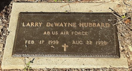 HUBBARD (VETERAN), LARRY DEWAYNE - Bowie County, Texas | LARRY DEWAYNE HUBBARD (VETERAN) - Texas Gravestone Photos