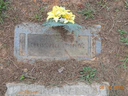 IRVING, CHRISTOPHER C - Bowie County, Texas | CHRISTOPHER C IRVING - Texas Gravestone Photos