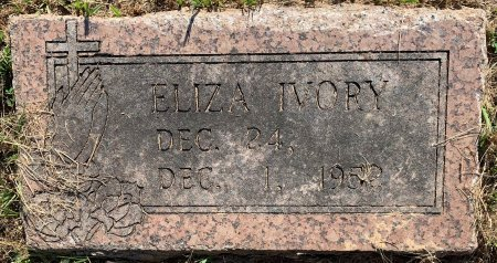 RUNNELS IVORY, ELIZA - Bowie County, Texas | ELIZA RUNNELS IVORY - Texas Gravestone Photos