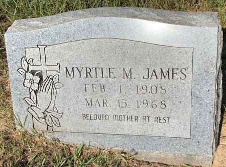 MILLS JAMES, MYRTLE M - Bowie County, Texas | MYRTLE M MILLS JAMES - Texas Gravestone Photos