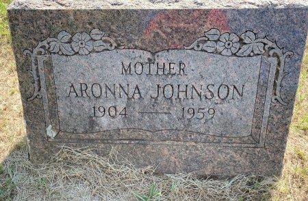 JOHNSON, ARONNA - Bowie County, Texas | ARONNA JOHNSON - Texas Gravestone Photos