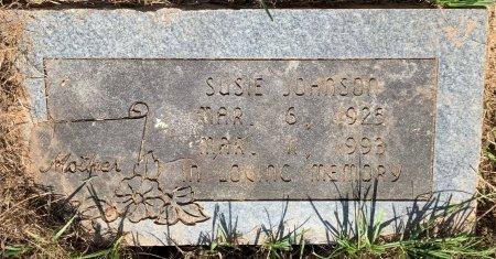 JOHNSON, SUSIE - Bowie County, Texas | SUSIE JOHNSON - Texas Gravestone Photos