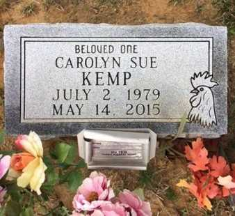 KEMP, CAROLYN SUE - Bowie County, Texas | CAROLYN SUE KEMP - Texas Gravestone Photos