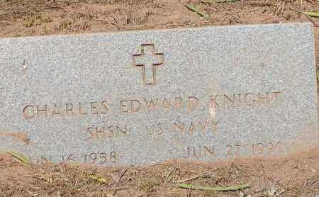KNIGHT (VETERAN), CHARLES EDWARD - Bowie County, Texas | CHARLES EDWARD KNIGHT (VETERAN) - Texas Gravestone Photos