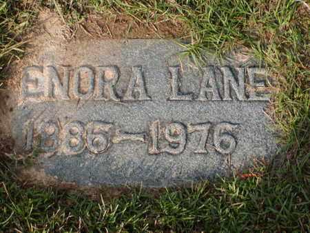 LANE, ENORA - Bowie County, Texas   ENORA LANE - Texas Gravestone Photos
