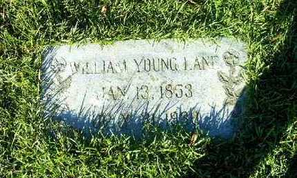 LANE, WILLIAM YOUNG - Bowie County, Texas | WILLIAM YOUNG LANE - Texas Gravestone Photos