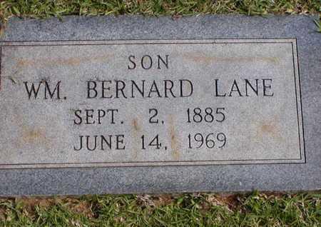 LANE, WM BERNARD - Bowie County, Texas | WM BERNARD LANE - Texas Gravestone Photos