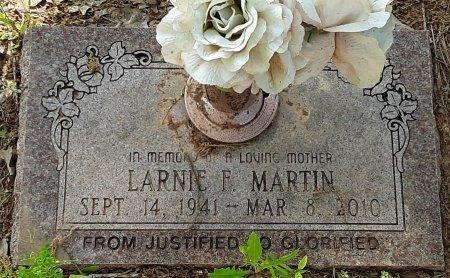MARTIN, LARNIE F - Bowie County, Texas | LARNIE F MARTIN - Texas Gravestone Photos