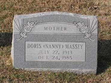 MASSEY, DORIS - Bowie County, Texas | DORIS MASSEY - Texas Gravestone Photos
