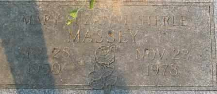 MASSEY, MARY SUZANNE - Bowie County, Texas | MARY SUZANNE MASSEY - Texas Gravestone Photos